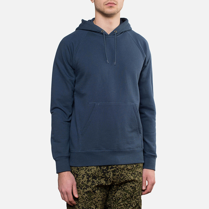 Мужская толстовка Carhartt WIP Hooded Chase Sweat Blue Penny