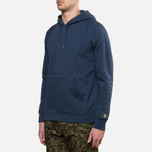 Мужская толстовка Carhartt WIP Hooded Chase Sweat Blue Penny фото- 1