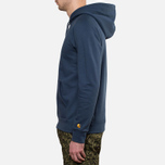Мужская толстовка Carhartt WIP Hooded Chase Sweat Blue Penny фото- 2