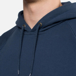 Мужская толстовка Carhartt WIP Hooded Chase Sweat Blue Penny фото- 5