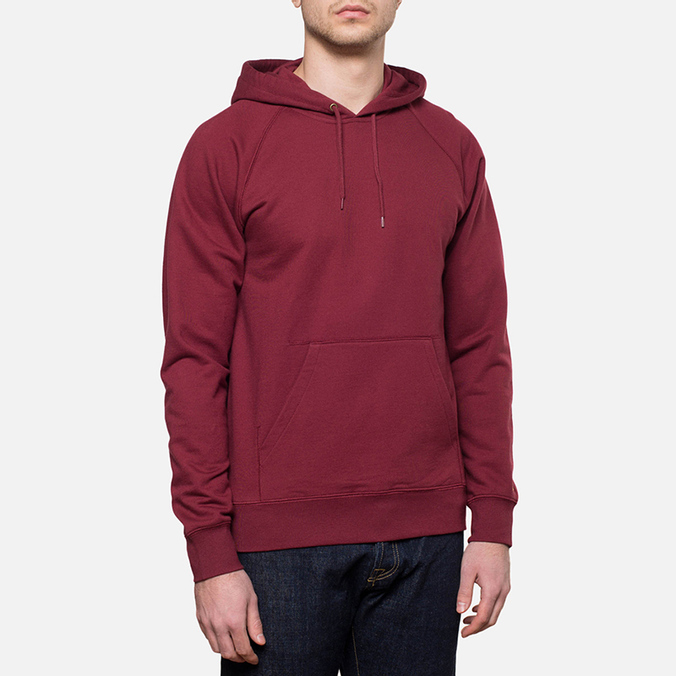 Carhartt WIP Hooded Chase Sweat Cordovan