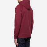 Carhartt WIP Hooded Chase Sweat Cordovan photo- 3