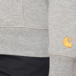 Carhartt WIP X' Hooded Chase Grey Heather photo- 6