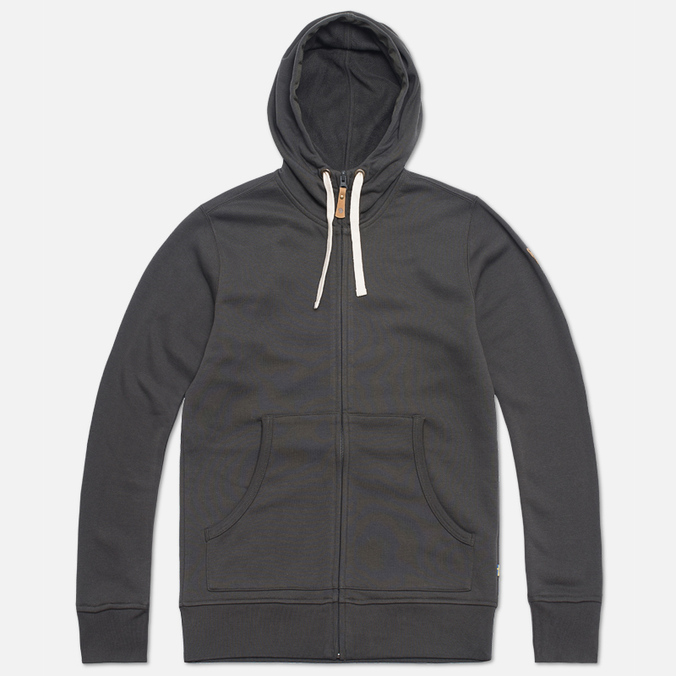 Мужская толстовка Fjallraven Ovik Hoodie Zip Mountain Grey