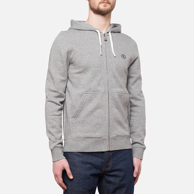 Мужская толстовка Henri Lloyd Leeward Hooded Full Zip Grey