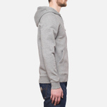 Мужская толстовка Henri Lloyd Leeward Hooded Full Zip Grey фото- 1
