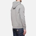 Мужская толстовка Henri Lloyd Leeward Hooded Full Zip Grey фото- 2