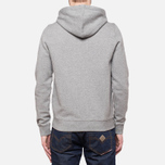 Мужская толстовка Henri Lloyd Leeward Hooded Full Zip Grey фото- 3
