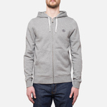 Мужская толстовка Henri Lloyd Leeward Hooded Full Zip Grey фото- 4