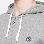 Мужская толстовка Henri Lloyd Leeward Hooded Full Zip Grey фото- 5
