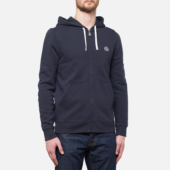 Мужская толстовка Henri Lloyd Leeward Hooded Full Zip Navy