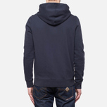 Мужская толстовка Henri Lloyd Leeward Hooded Full Zip Navy фото- 3