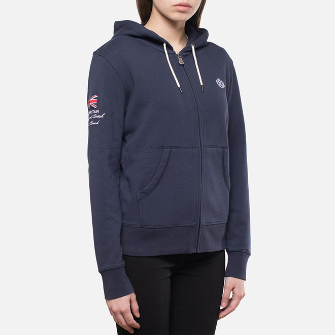 Женская толстовка Henri Lloyd Kellsie Hooded Zip Navy