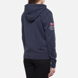 Женская толстовка Henri Lloyd Kellsie Hooded Zip Navy фото- 2
