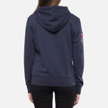 Женская толстовка Henri Lloyd Kellsie Hooded Zip Navy фото- 3
