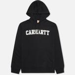 Carhartt WIP Kangaroo College Men`s Hoody Black/White photo- 0