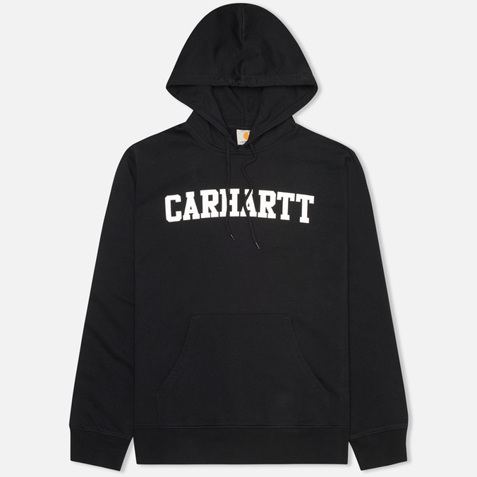 Carhartt WIP Kangaroo College Men`s Hoody Black/White