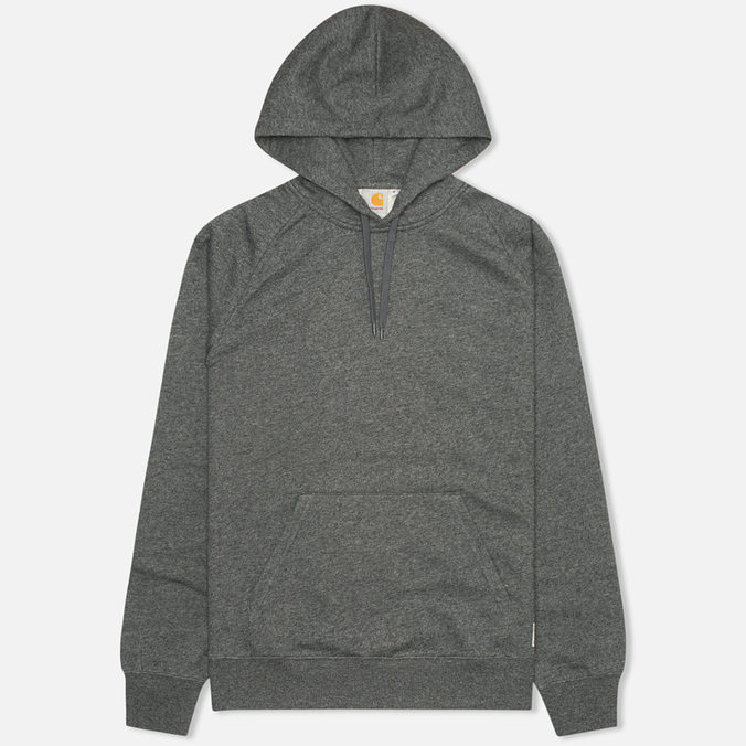 Мужская толстовка Carhartt WIP Kangaroo Hollbrook Black Noise Heather