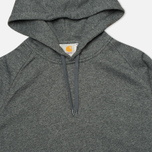 Мужская толстовка Carhartt WIP Kangaroo Hollbrook Black Noise Heather фото- 1