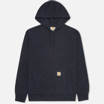 Мужская толстовка Carhartt WIP Kangaroo Porter Duke Blue Heather/Resolution фото- 0