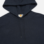 Мужская толстовка Carhartt WIP Kangaroo Porter Duke Blue Heather/Resolution фото- 1