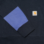 Мужская толстовка Carhartt WIP Kangaroo Porter Duke Blue Heather/Resolution фото- 3