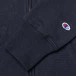 Мужская толстовка Champion Reverse Weave Basic Zip Navy фото- 3