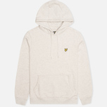 Мужская толстовка Lyle & Scott Logo Fleece Light Grey Marl фото- 0
