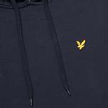 Мужская толстовка Lyle & Scott Logo Fleece New Navy фото- 2