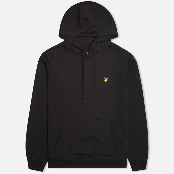 Мужская толстовка Lyle & Scott Logo Fleece True Black