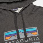Мужская толстовка Patagonia Tres Peaks Midweight Black фото- 1
