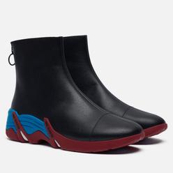 Кроссовки Raf Simons (RUNNER) Cylon Leather Black/Blue/Red