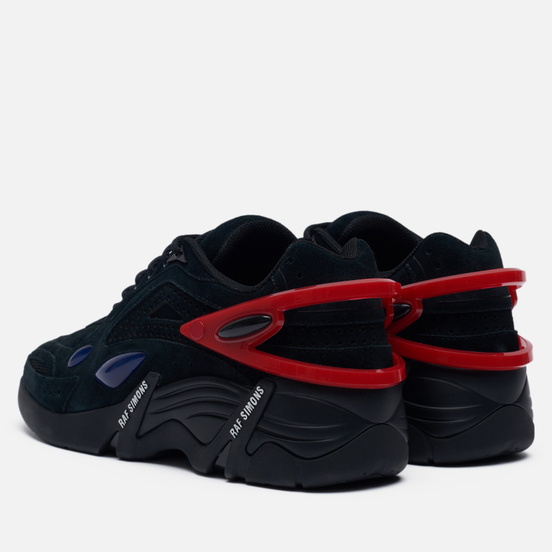 Кроссовки Raf Simons (RUNNER) Cylon-21 Suede Black