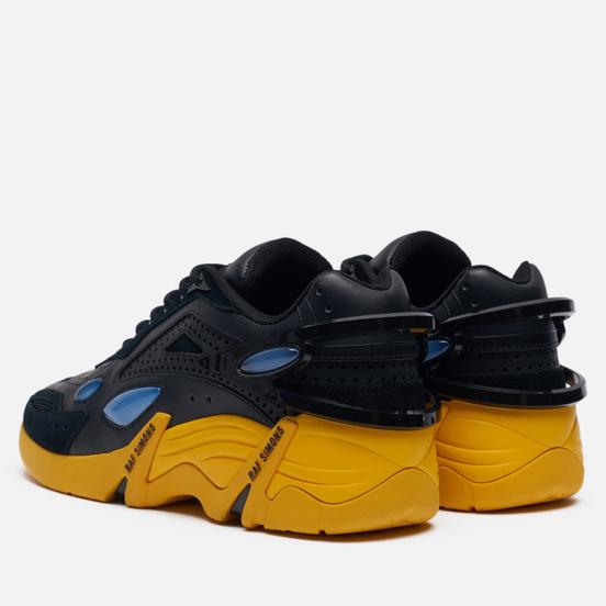 Кроссовки Raf Simons (RUNNER) Cylon-21 Suede Black/Yellow