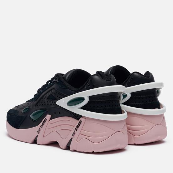Женские кроссовки Raf Simons (RUNNER) Cylon-21 Suede Black/Pink
