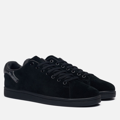 Мужские кроссовки Raf Simons (RUNNER) Orion Suede Black