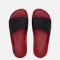 Мужские сланцы Raf Simons (RUNNER) Astra Black/Red фото - 1