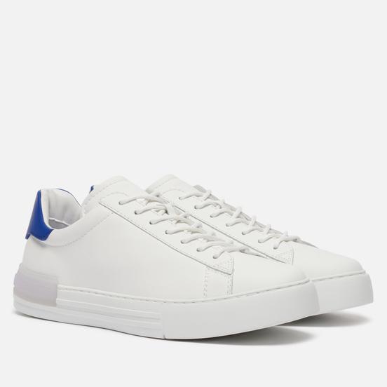 Мужские кроссовки Hogan Rebel Smooth Derby Leather White/Blue