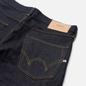 Мужские джинсы Edwin ED-47 Red Listed Selvage Denim 14 Oz Blue Unwashed фото - 2