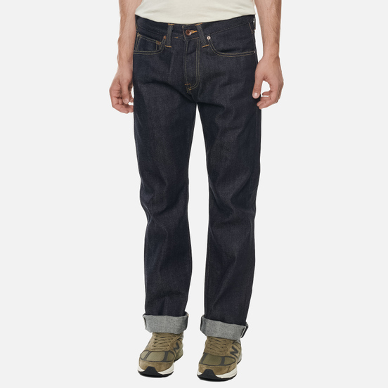 Мужские джинсы Edwin ED-47 Red Listed Selvage Denim 14 Oz Blue Unwashed