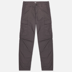 Мужские брюки Carhartt WIP Regular Cargo 6.5 Oz Blacksmith Rinsed