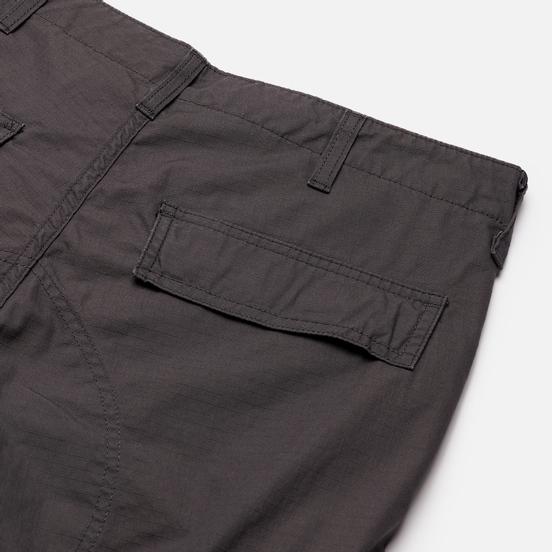 Мужские брюки Carhartt WIP Regular Cargo 6.5 Oz Blacksmith Rinsed