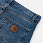 Мужские джинсы Carhartt WIP Klondike 12 Oz Blue Mid Used Wash фото - 2