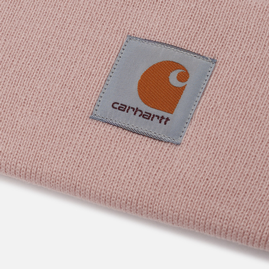 Шапка Carhartt WIP Acrylic Watch Frosted Pink