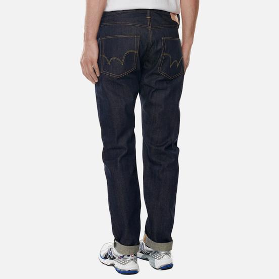 Мужские джинсы Edwin ED-55 63 Rainbow Selvage Denim 12.8 Oz Blue Unwashed