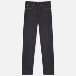 Мужские джинсы Edwin ED-80 63 Rainbow Selvage Denim 12.8 Oz Blue Unwashed