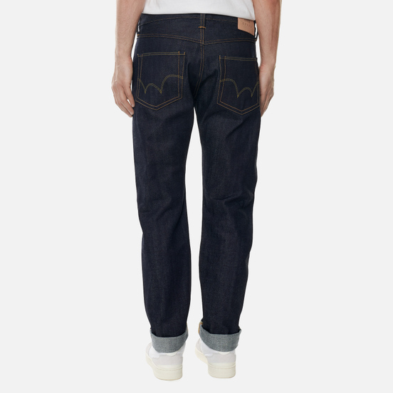 Мужские джинсы Edwin ED-55 Red Listed Selvage Denim 14 Oz Blue Unwashed