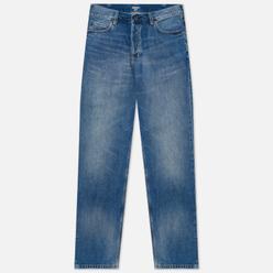 Мужские джинсы Carhartt WIP Marlow 12 Oz Blue Mid Used Wash
