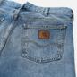 Мужские джинсы Carhartt WIP Marlow 12 Oz Blue Light Used Wash фото - 2