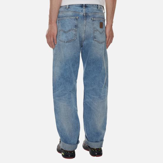 Мужские джинсы Carhartt WIP Marlow 12 Oz Blue Light Used Wash